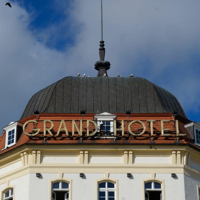It's Grand. Hotel Grand.