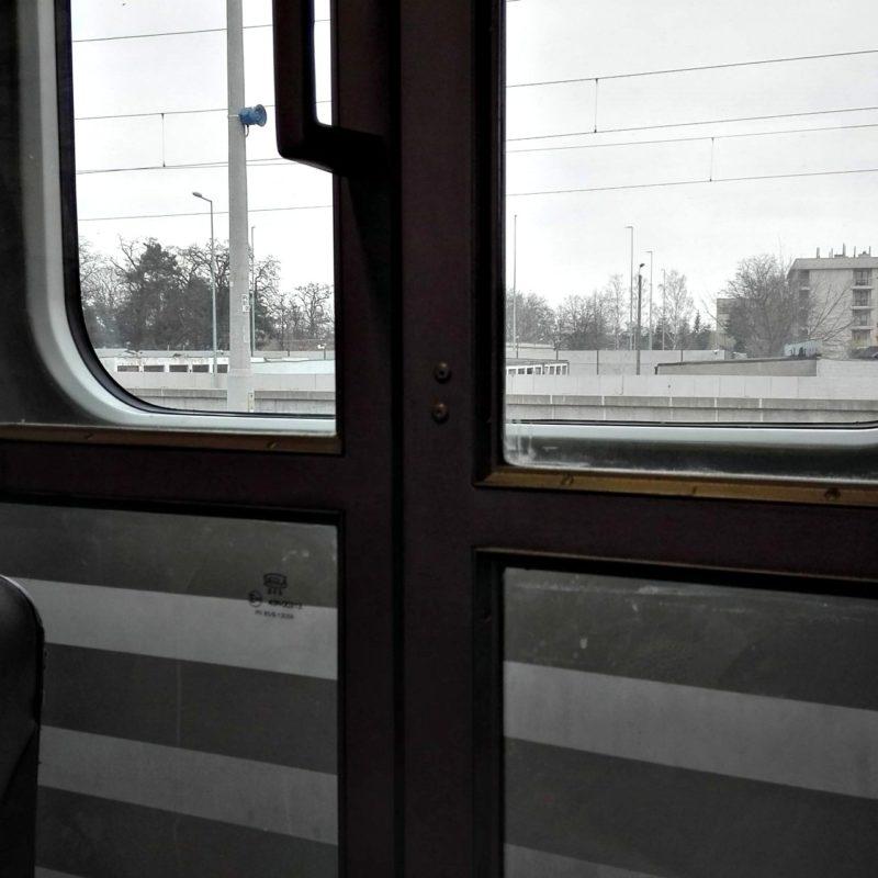Pociąg kończy bieg